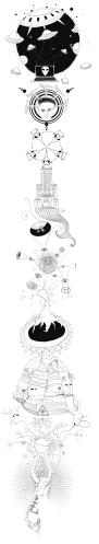 Illustrationen zum Thema Verschwörung