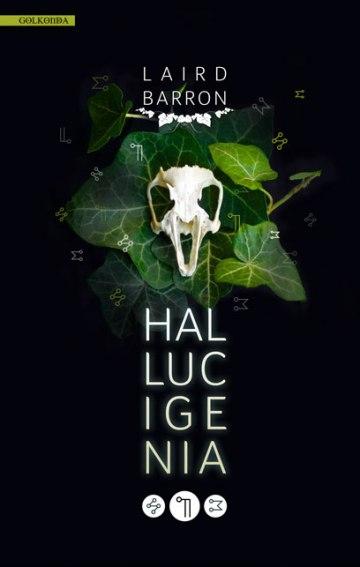 """Umschlaggestaltung für """"Laird Barron - Hallucigenia"""""""