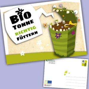 Kampagne (KÖN): Biotonne richtig füttern!