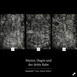 Munin, Hugin und der dritte Rabe
