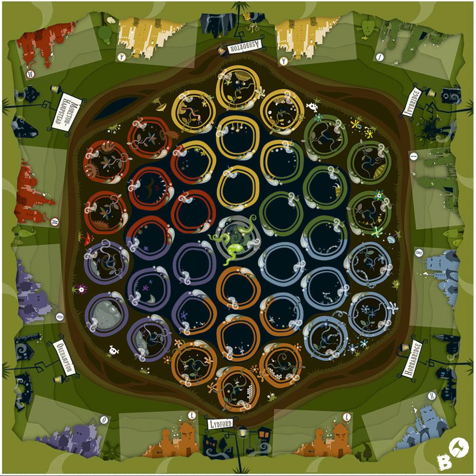 Dartmoor - Ein Spiel von Markolf Hoffmann